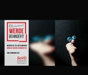 Screenshot einer Kampagne des SoVD